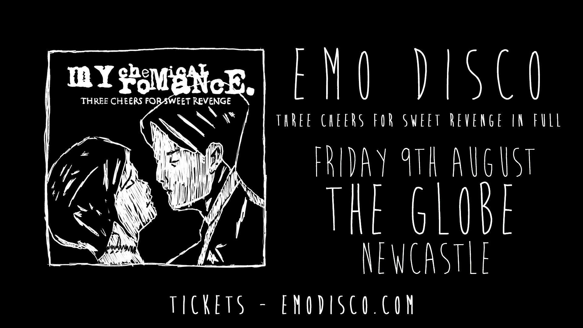 Emo Disco Three Cheers For Sweet Revenge Line Up